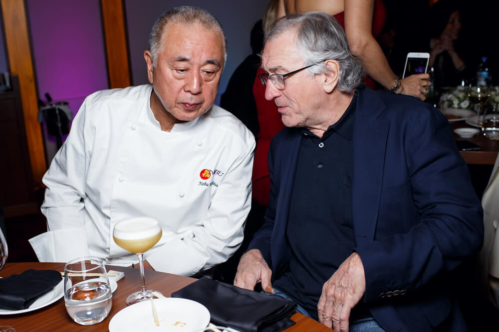 Celebrity that owns restaurant Robert De Niro Restaurant Accounting